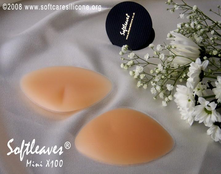 Softleaves Mini X100 Silicone Breast Enhancers